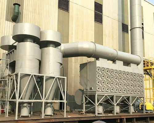 VOCS废气处理组合工艺