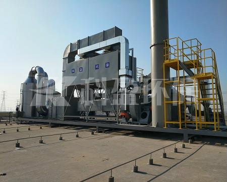 活性炭吸附浓缩催化一体化设备