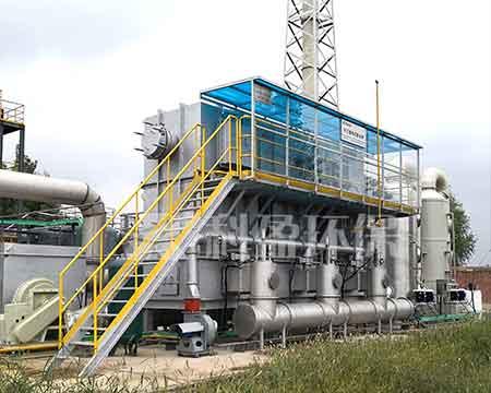 工业废气处理设备RTO设备应用至印刷行业