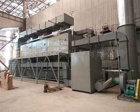 活性炭催化燃烧废气处理设备