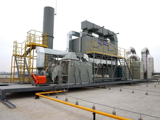 涂装废气HCH催化燃烧设备