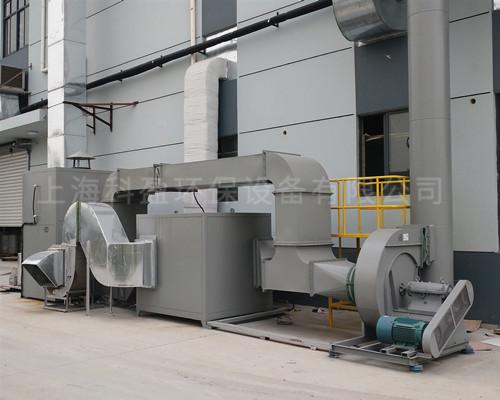包裝印刷包干復線催化燃燒設備