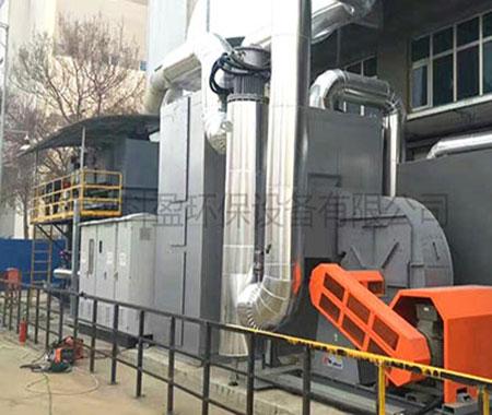 涂料制漆废气治理工艺沸石转轮+RTO
